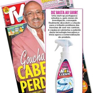 A TV Guia já descobriu o Axi Clean! E tu?