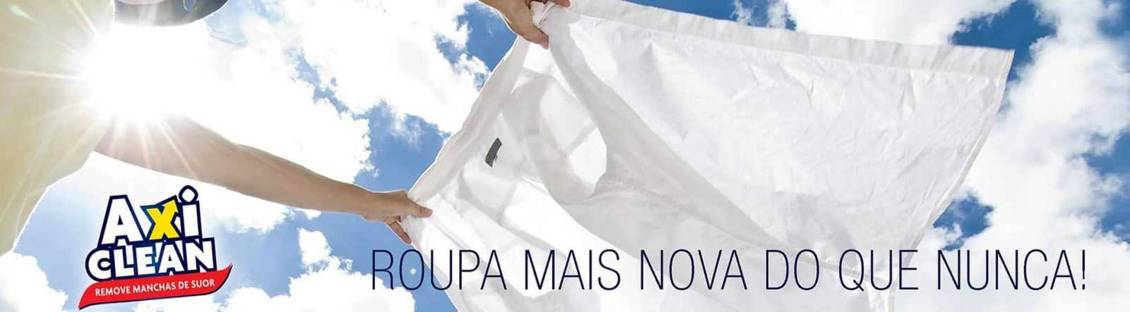 roupa branca sem manchas de suor