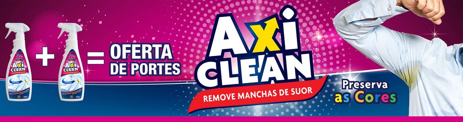 axi clean remove manchas de suor
